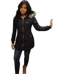chaqueta impermeable para dama