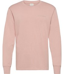 essential core logo tee t-shirts long-sleeved rosa filling pieces