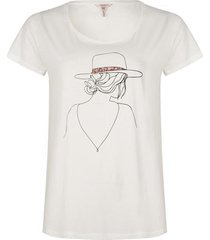 esqualo t-shirt line print