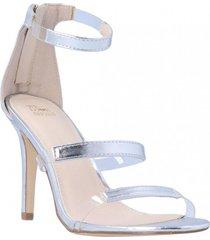 sandalia gigi verano plateado we love shoes