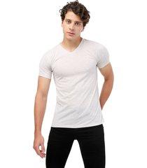 camiseta gris jaspe claro manpotsherd t-shirt