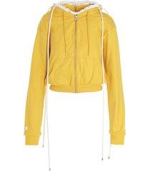 lourdes collapse dress hoodie sweater