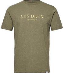 amalfi t-shirt t-shirts short-sleeved grön les deux