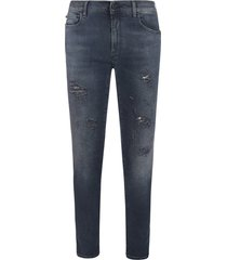 off-white diag skinny jeans
