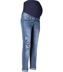 jeans boyfriend prémaman (blu) - bpc bonprix collection