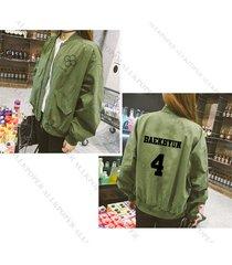 kpop exo baseball uniform coat ex'act jacket chanyeol lucky one sehun outwear