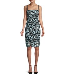 romance lace sheath dress