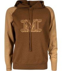 max mara printed hoodie