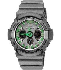 relógio casio g-shock ga-200sh-8adr masculino