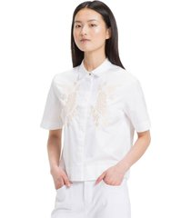 blusa regular pilar blanco tommy hilfiger