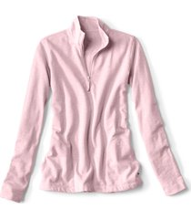 sunwashed quarter-zip sweatshirt