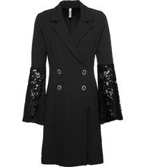 abito con maniche in pizzo (nero) - bodyflirt boutique