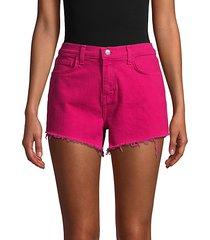 ryland high rise shorts