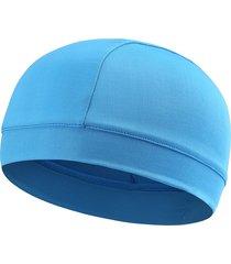 berretto sportivo solido antivento traspirante antivento traspirante sottile elastico del tessuto delle donne degli uomini