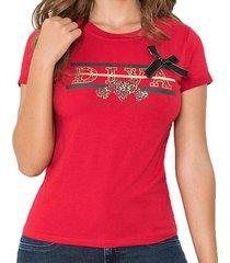 blusa diva rojo para mujer croydon