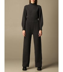 theory jumpsuits theory long jumpsuit in wool and cashmere