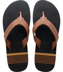men's havaianas urban craft flip flop, size 13 m - brown