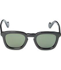 50mm keyhole square sunglasses