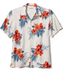 tommy bahama men's hilo hibiscus short-sleeve silk shirt