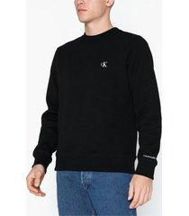 calvin klein jeans ck essential reg cn tröjor black