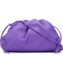 bottega veneta the mini pouch bag - purple
