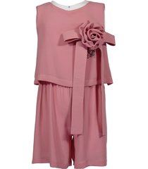 jumpsuit with flower