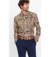 overhemd met paisleypatroon