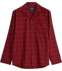 pyjamas unisex checked flannel