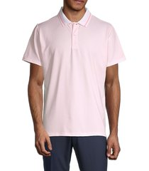 bonobos men's slim-fit short-sleeve polo - pink - size xxl