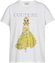 alexandre vauthier couture t-shirt cotton