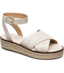 abbott sandal sandaletter expadrilles låga creme michael kors shoes