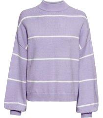 maglione a righe (viola) - rainbow