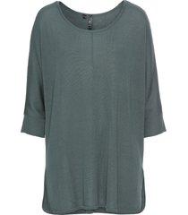 maglione con maniche a 3/4 (verde) - rainbow