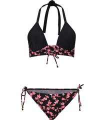 bikini a bustier (set 2 pezzi) (nero) - bodyflirt