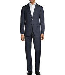 standard-fit wool suit