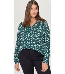 blus xponde 3/4 blouse