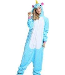 pijama rioutlet macacão unicórnio feminino