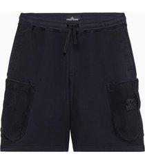 stone island mesh pocket shorts 741960307