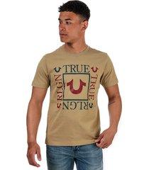 mens square logo t-shirt