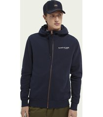 scotch & soda relaxed-fit hoodie