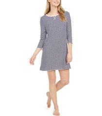 nautica women's sweater knit sleepshirt nightgown, online only