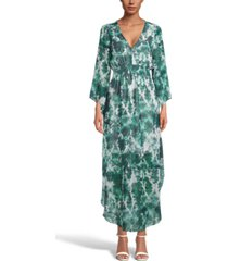 inc tie-dyed maxi dress, created for macy's