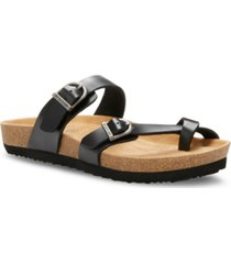 eastland women's tiogo thong sandals women's shoes