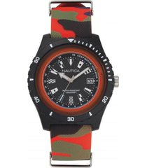 reloj casual multicolor nautica