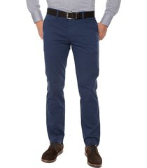 pantalòn masculino dril azul indigo con spandex los caballeros