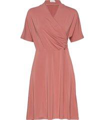 pomme dress knälång klänning rosa residus