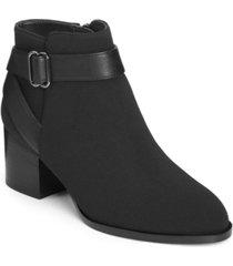 aerosoles women's maggie block heel booties women's shoes