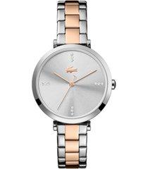 lacoste women's two-tone stainless steel bracelet watch 32mm