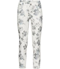 pantalone a fiori (bianco) - rainbow