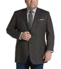 pronto uomo platinum executive fit sport coat black & white check
